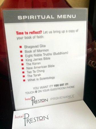 Hotel Preston: Love this!