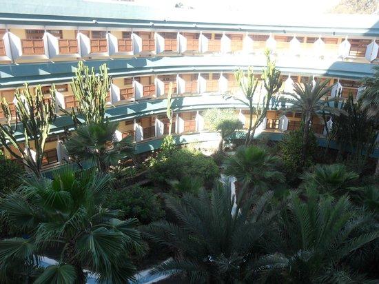 HL Suitehotel Playa del Ingles: Vista dal balcone della camera