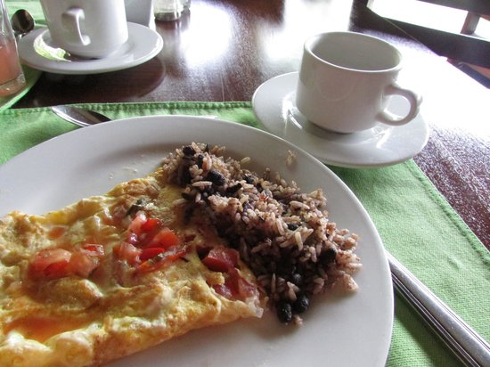 Hotel Lomas del Volcan: breakfast buffet was good.