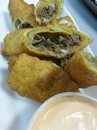 High Stakes Bar & Grill: Cheesesteak Eggrolls
