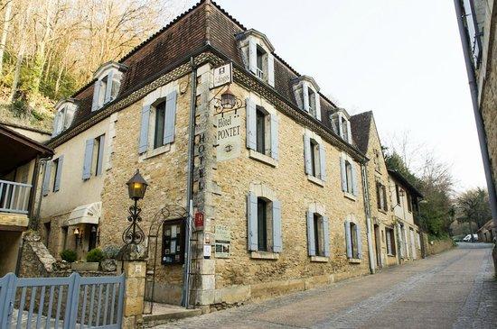 Hotel Pontet: Hotel building