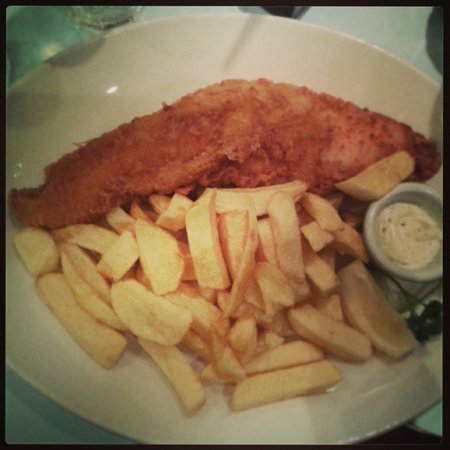 Poppies Fish & Chips: My Large Cod+Fish @Poppies 26.04.14