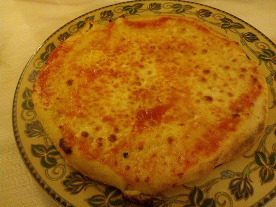 Villa Rubinacci: Pizza Margherita S.Glutine