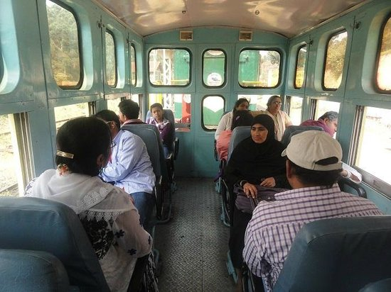 Nilgiri Mountain Railway : First Class (chair car types) - Ooty to coonoor and return