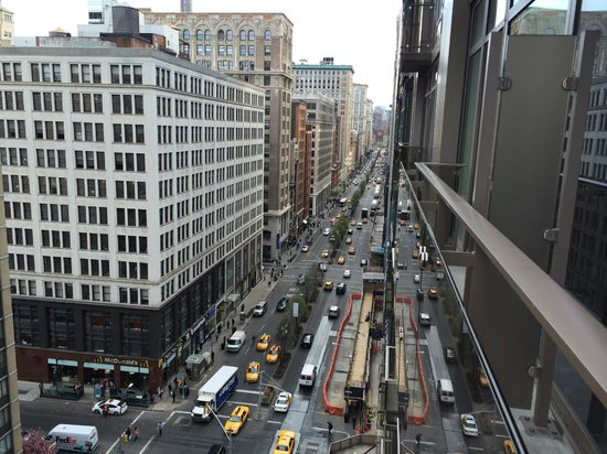 Royalton Park Avenue : Balcony view from outside