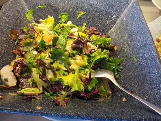 Amathus Beach Hotel Limassol: leckere Salatkreationen