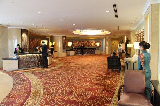 Shangri-La Hotel,Bangkok: reception