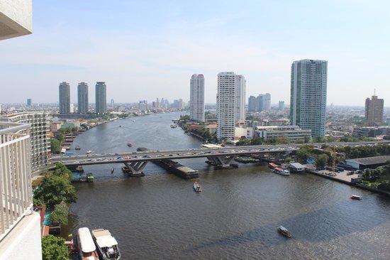 Shangri-La Hotel,Bangkok: river view