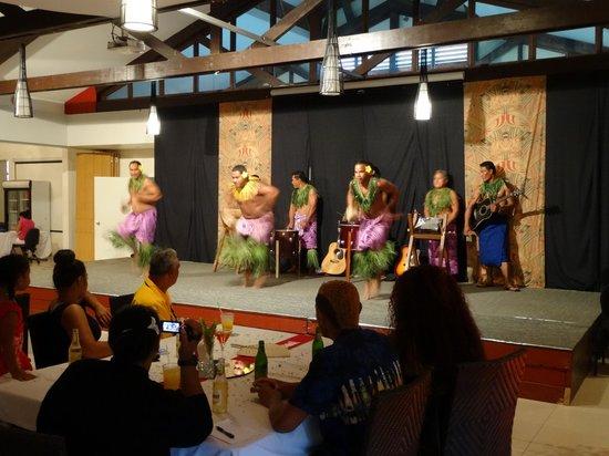Tanoa Tusitala Hotel: Traditioneller Folkloreabend