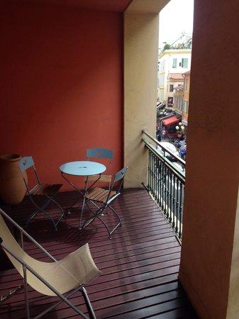 Hotel de Flore by HappyCulture : Balcón habitación 214