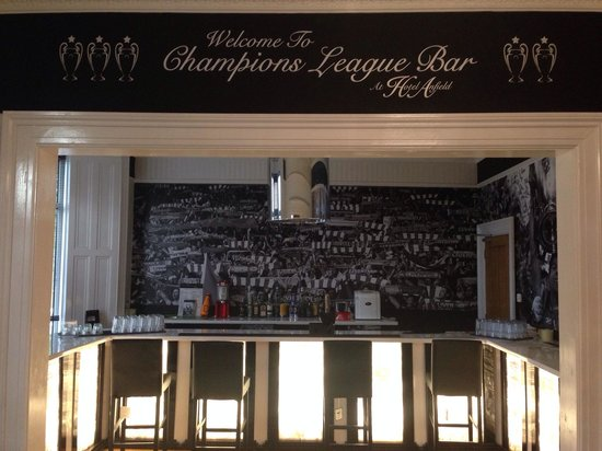 Hotel Anfield: The new Best Bar in Liverpool!!