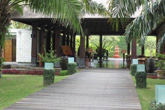 Rama Candidasa Resort & Spa: Lobby