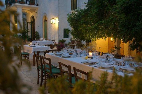 Masseria Il Frantoio: Atmosfere al tramonto