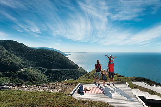 Nova Scotia, Canada: Skyline Family Trail