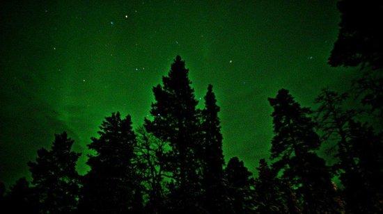 Hotel Jeris: bad northern lights photo.. :)
