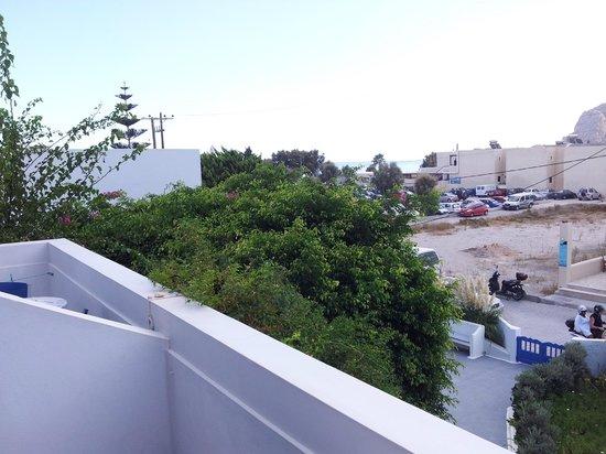 Hotel Hippocampus : вид с балкона