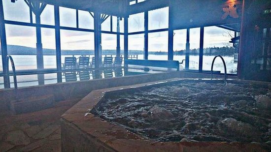 Hotel Jeris : Indoor sauna rooms, jacuzzi, heated pools