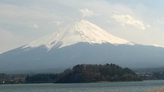 Fujiya Hotel: Mt Fuji, view across the lake