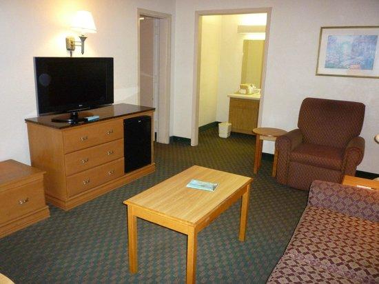 Vicksburg Inn & Suites: Living Room area