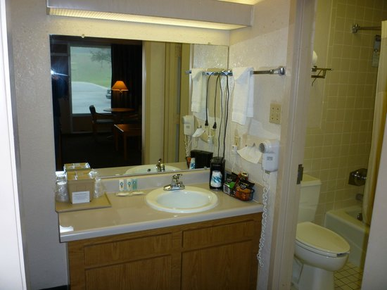 Vicksburg Inn & Suites: Bath