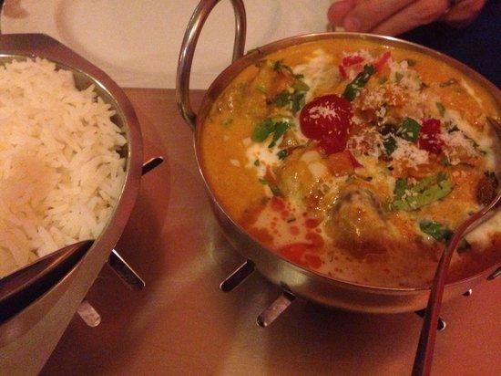 Everest: Lamb w coconut powder n curry