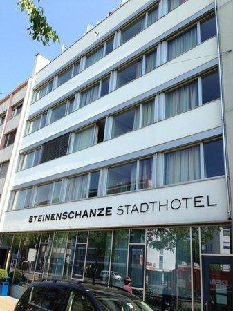 Steinenschanze Stadthotel : Alçado principal