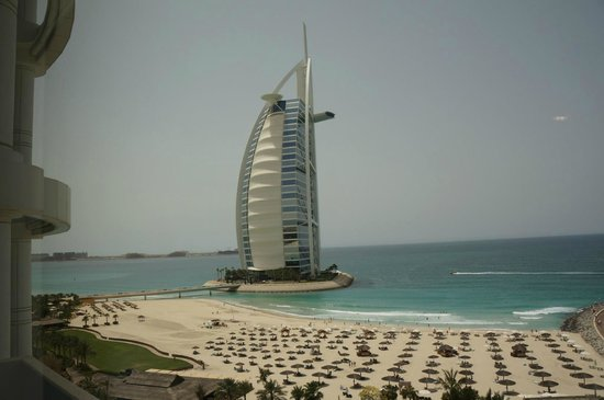 Jumeirah Beach Hotel: View from our room