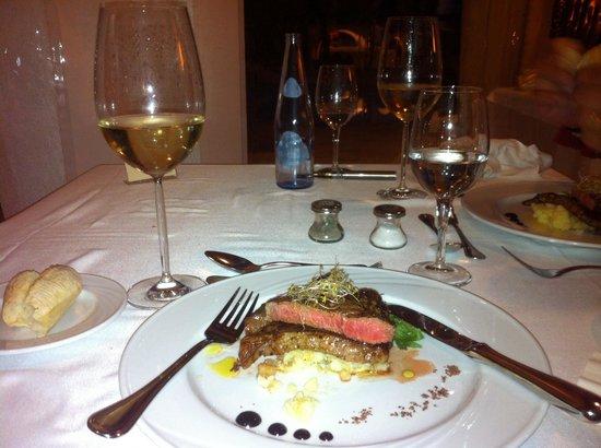 Maritim Hotel Galatzó: At the restaurant