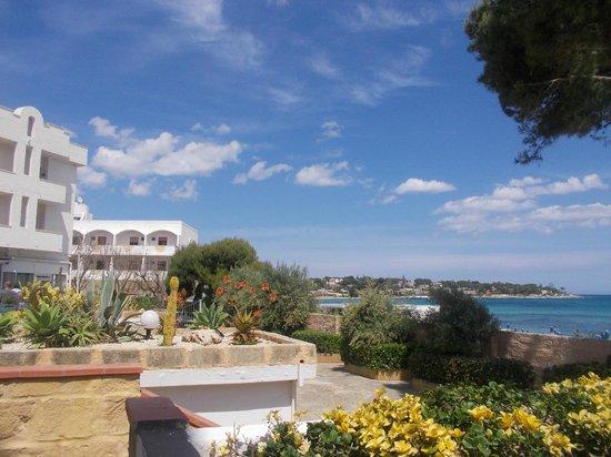 Hotel Fontane Bianche Beach Club: Panorama spiaggia