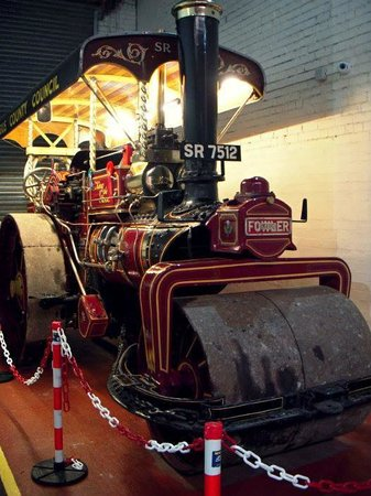 Dundee Museum of Transport: One of ten remaining Angus County Council Rollers in preservation.  This one now resides at the
