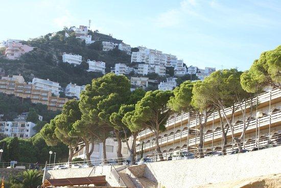 Canyelles Platja : расположение отеля