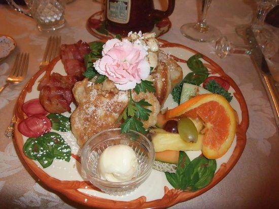 The Aerie Bed and Breakfast: Frühstück