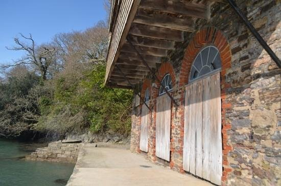 Greenway: boat house