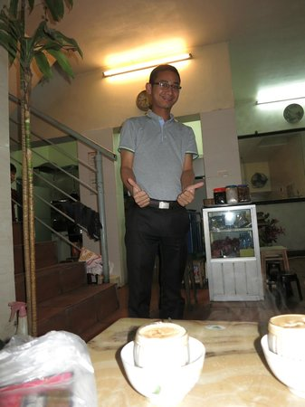 Giang Cafe : The Owner! really nice guy!
