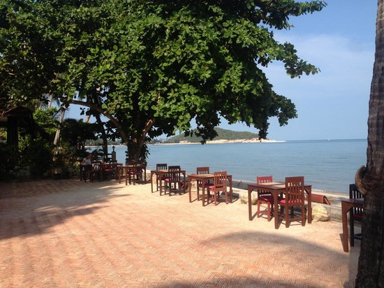 The Lipa Lovely Beach Resort : Restaurant