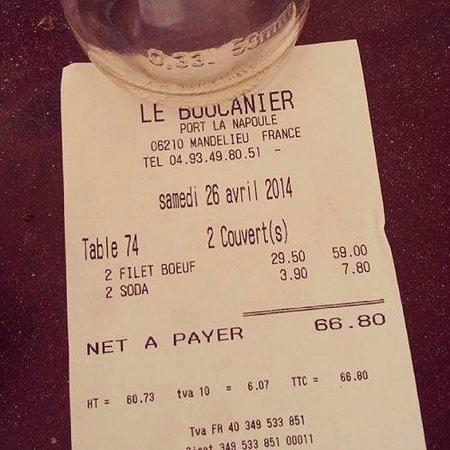 Le Boucanier: Mon superbe ticket :S