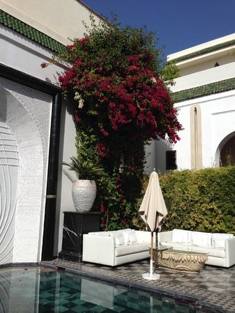 Riad Lotus Privilege: Inner Courtyard