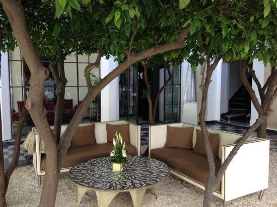 Riad Lotus Privilège : Inner Courtyard