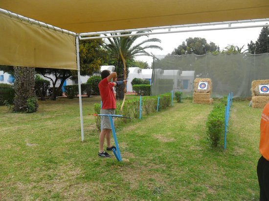 Club Eldorador Salammbo : tir a l'arc