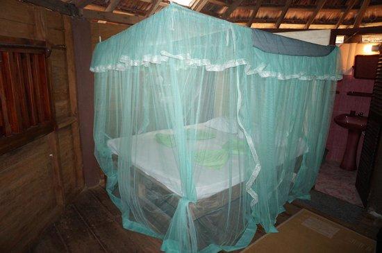 Calm Rest Guest House Mirissa: Bett