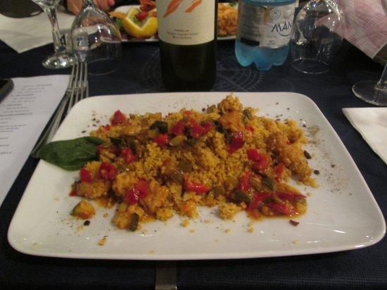 Trattoria La Muciara: cous cous vegetariano