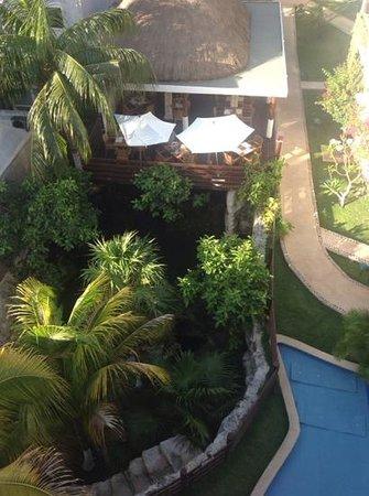 Hotel Posada Sian Ka'an: la vista desde la habitacion 404