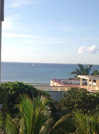Hotel Posada Sian Ka'an: hermosa vistas parcial al mar