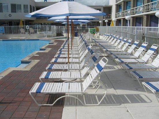 Jolly Roger Motel: Pool Area
