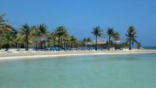 Hotel Ejecutivo Las Palmas Beach : Private Beach
