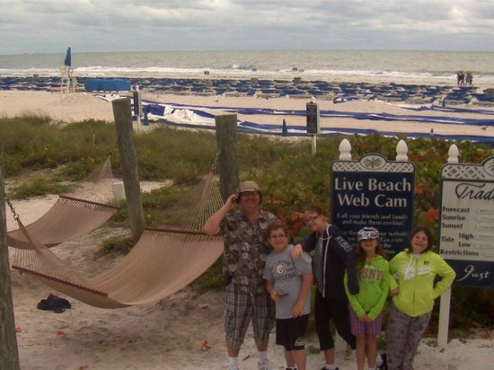 Guy Harvey Outpost, a TradeWinds Beach Resort: by big slide and video cam