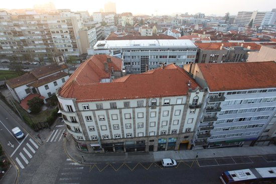 Dom Henrique Hotel : vista da varanda