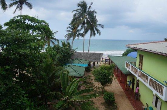 Sun Shine Beach Inn: Ausblick