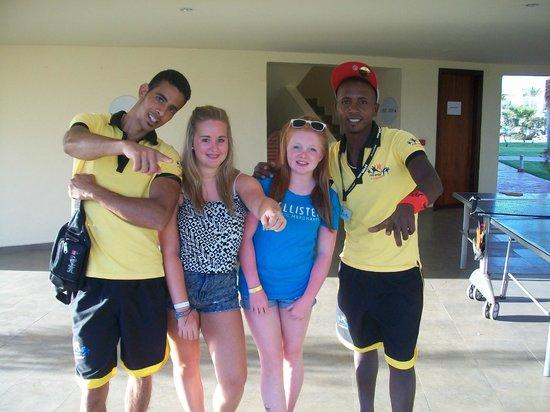 Hilton Sharks Bay Resort : Me,my friend, Mido and Yankee