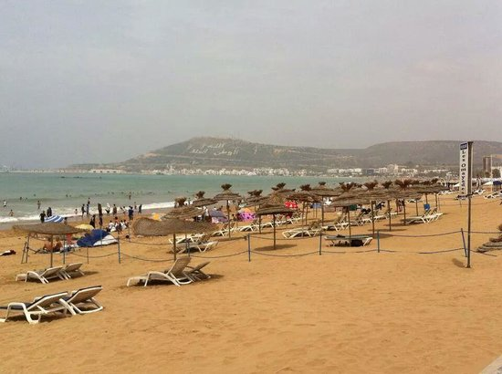Hotel Riu Tikida Beach: beach at agadir
